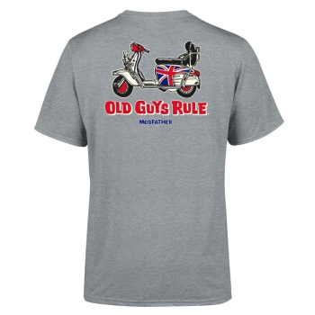 "Old Guys Rule T-Shirt ""Modfather"""