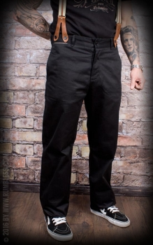 Rumble59 Hosen - Chino Pants Black
