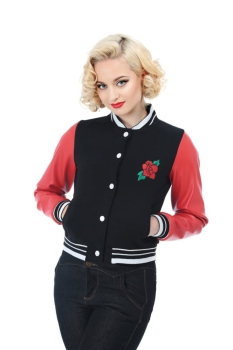 Collectif Collegejacke Rose