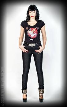 6364ee9cfa5d Rumble59 Jeans Black Marilyns´ Curves - Slim Fit