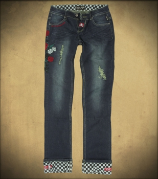 Rusty Pistons Rose Jeans