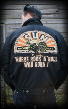 Rumble59 Workerjacke Sun Record
