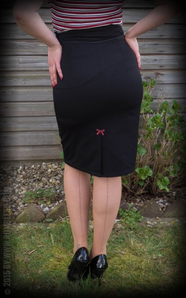 Rumble59 Perfect Pencilskirt - Black
