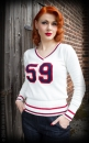 Rumble59 Pullover Ladies College Sweater